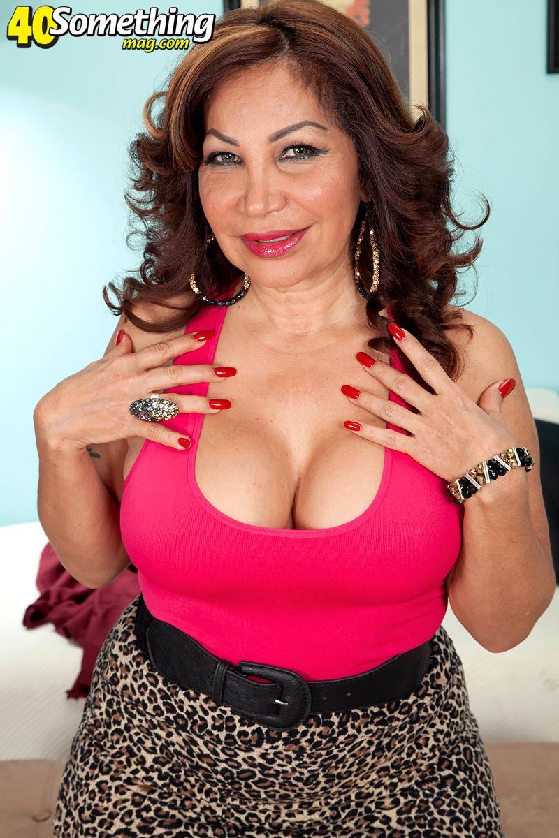 Latina big tits with mature