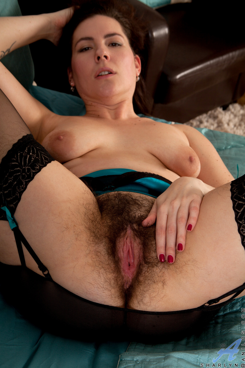 Hairy Pussy Strip Tease