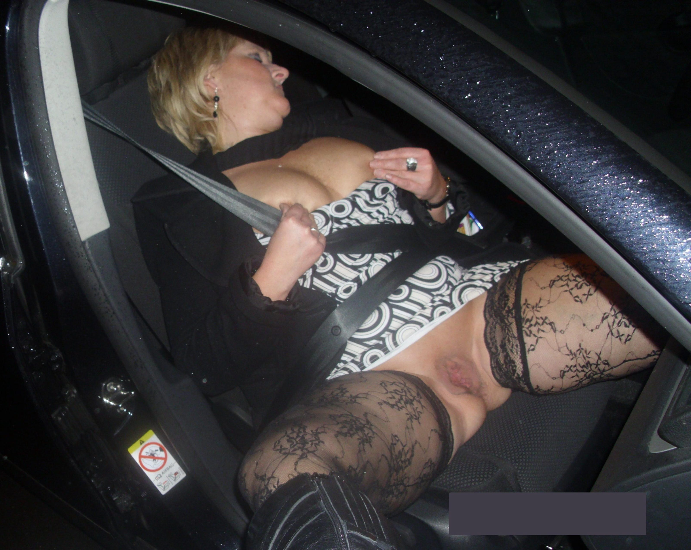 milf fuck in car