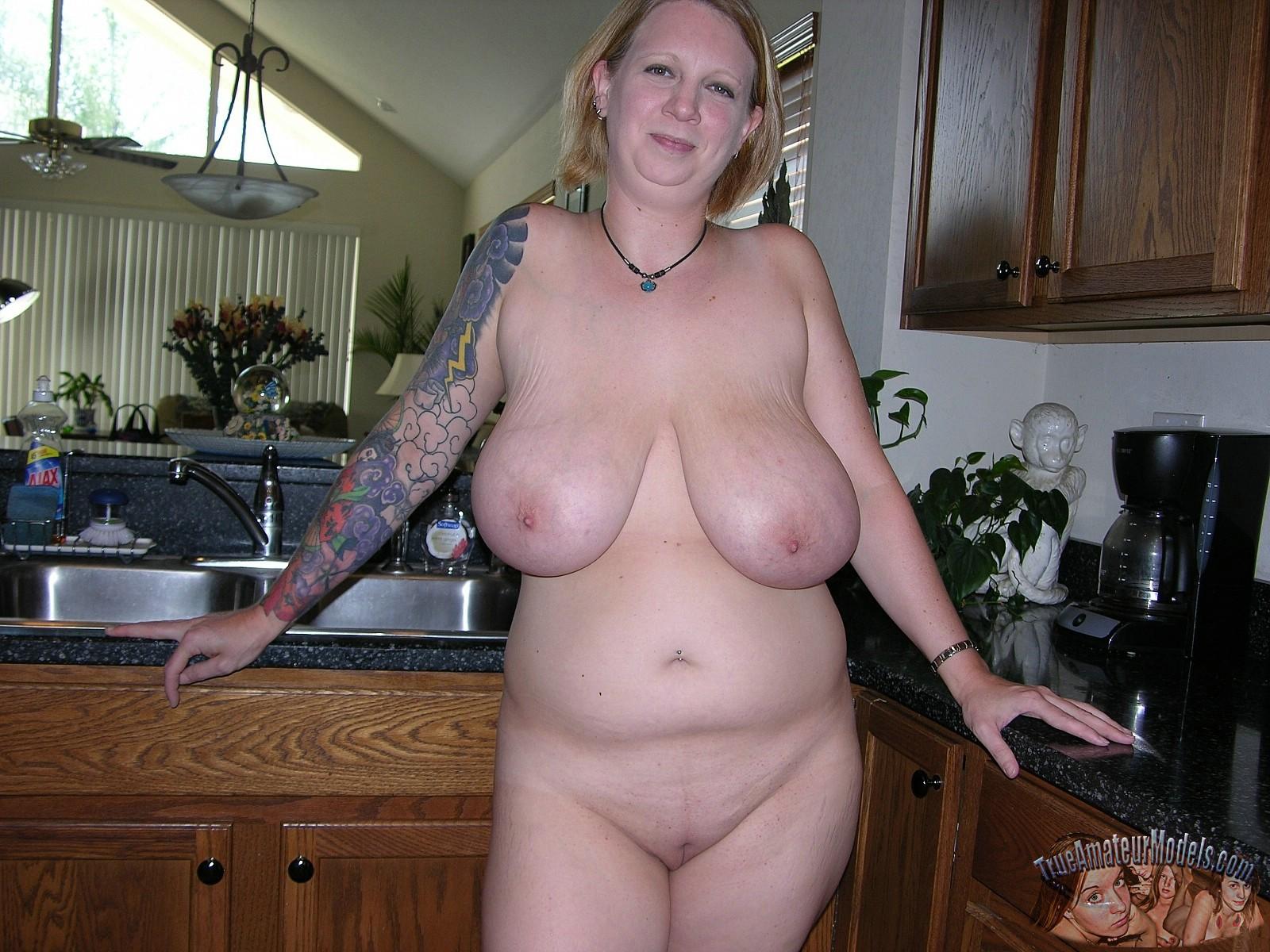 Big Tits Amateur Behind
